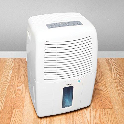Haier 65-Pint Dehumidifier, White DE65EM-L