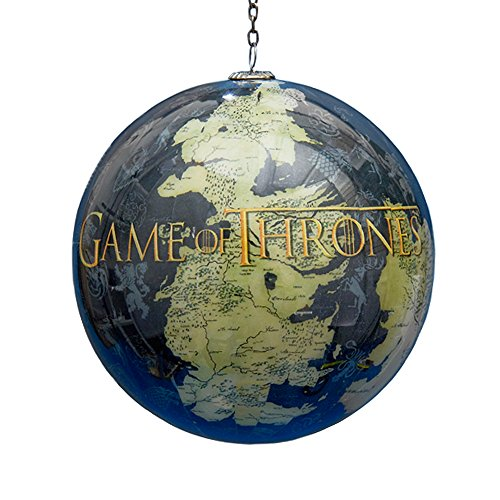 Thrones Westeros Decoupage Christmas Ornament product image