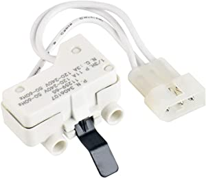 Dryer Door Switch Replacement Part for 3406109 3406107 Whirlpool, Kenmore, Maytag, Roper, Estate