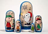 Charlie Brown Christmas Nesting Doll 5pc./5""