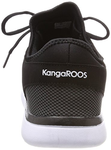 KangaROOS Erwachsene Sumpy Black Steel Schwarz Jet Grey Sneaker Unisex rZEq5wr