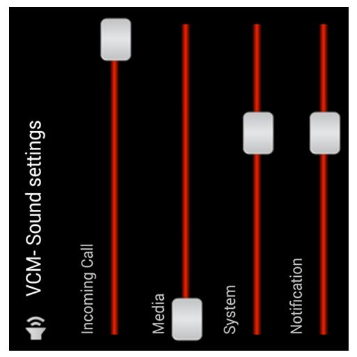 volume controls - 7