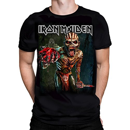 Offizielle Iron Maiden Merchandise Book Of Souls Tour T-Shirt