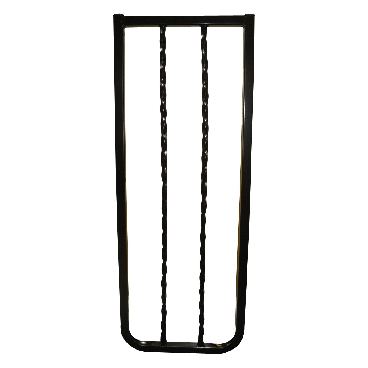 Cardinal Gates Extension for Wrought Iron Decor Gate, Black, 10.5