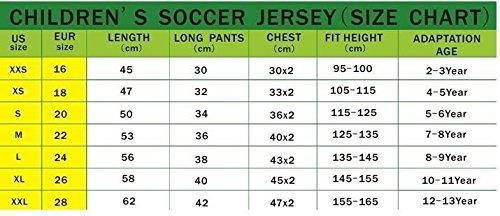 LISIMKE 2018-2019 Portugal C Ronaldo #7 Juventus Kids Or Youth Soccer Jersey /& Shorts /& Socks Bag