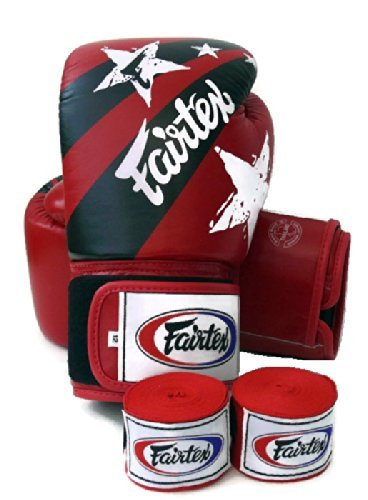 Twins Boxing Gloves (Red) - 8