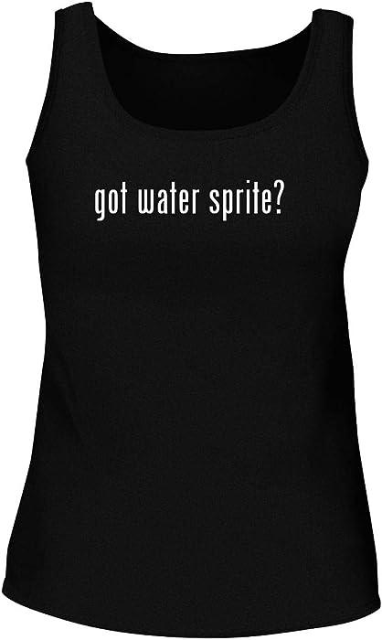 1dfad00c7 BH Cool Designs got Water Sprite? - Cute Women's Graphic Tank Top, Black,
