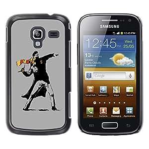 "For Samsung Galaxy Ace 2 , S-type Street Art Rebel"" - Arte & diseño plástico duro Fundas Cover Cubre Hard Case Cover"