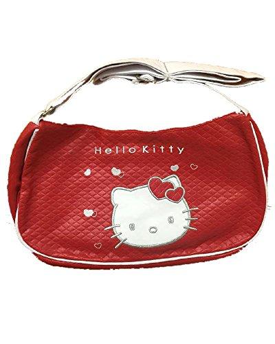 Borsa hello Kitty rossa tracolla bianca Ufficiale Sanrio *05608