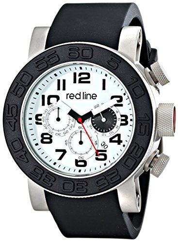 red line Men's RL-50052-02 Xlerator Analog Display Japanese Quartz Black Watch (Red Line Chronograph compare prices)