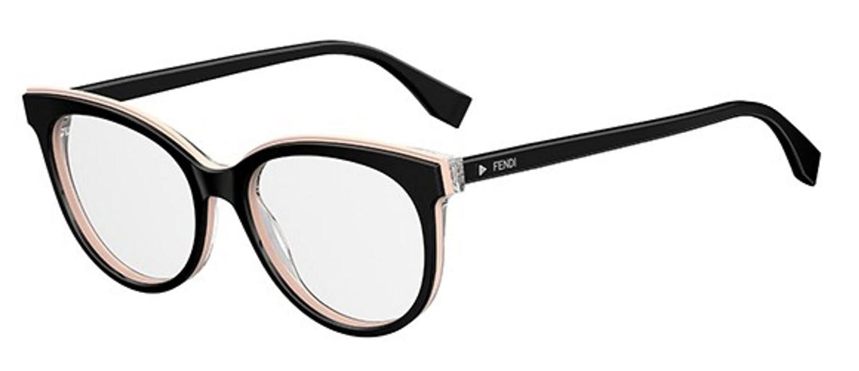 New Fendi FF 0254 807 Black light Pink Eye Wear