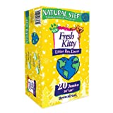 Fresh Kitty Litter Box Liners, 20 Count Natural Step Drawstring, My Pet Supplies