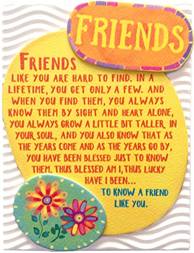 (Miniature Easel Print with Magnet: Friends, 3.6