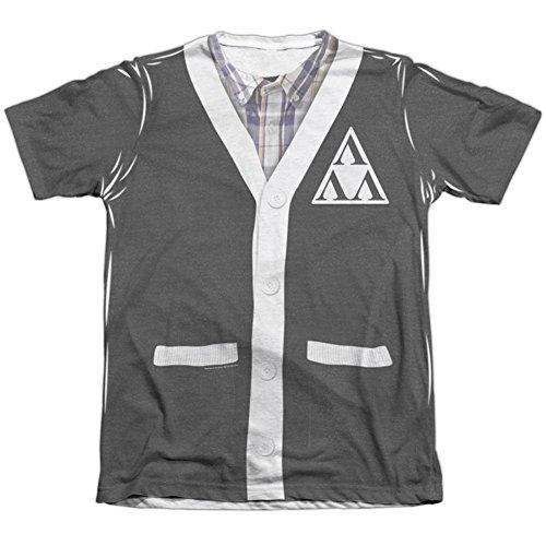 Tri Lambda Costume (Revenge Of The Ners- Tri-Lambda Cardigan Costume Tee T-Shirt Size XXL)