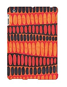Hot Design Premium Rdmxfd-633-phhajtw Tpu Case Cover Ipad 2/3/4 Protection Case (vintage Red And Black)
