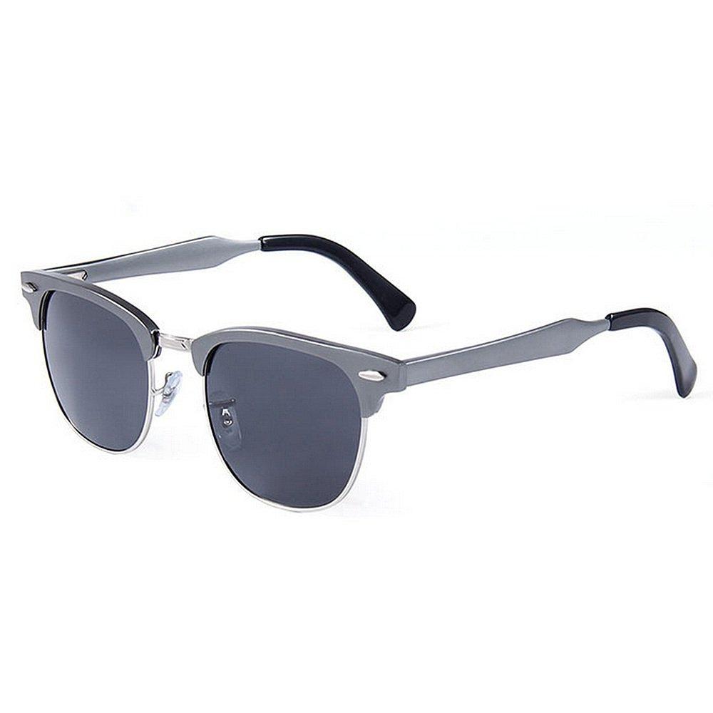 Ultra ligero para hombre Gafas de sol deportivas para hombres Marco de aluminio y magnesio Gafas de sol polarizadas Protección UV Gafas de sol para conducir ...