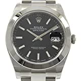 Rolex Datejust 41 mm 126300 Stainless Steel Oyster Bracelet Roman Numeral Men's Watch
