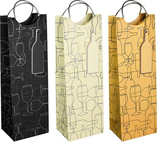 revel-paper-0346-silhouette-single-bottle-kraft-paper-wine-bag-black-gold-silver