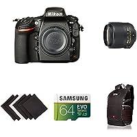 Nikon D810 FX-format Digital SLR Event Photograhpy Lens Kit w/ AmaoznBasics Accessories