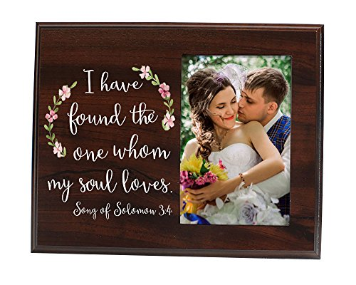 Elegant Signs I Have Found The One Whom My Soul Loves Picture Frame Gift For Her Gift For Him Wedding Gift Bridal Shower Gift ()