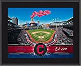 "Cleveland Indians 10"" x 13"" Sublimated Team Stadium Plaque - Fanatics Authentic Certified - MLB Team Plaques and Collages"
