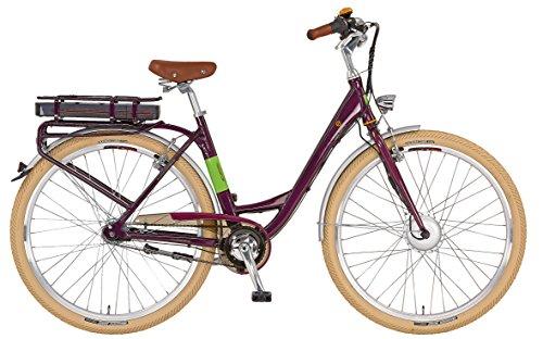 Prophete Damen Elektrofahrrad E-Bike 28 Zoll Navigator Flair, aubergine, 50, 52116-0111