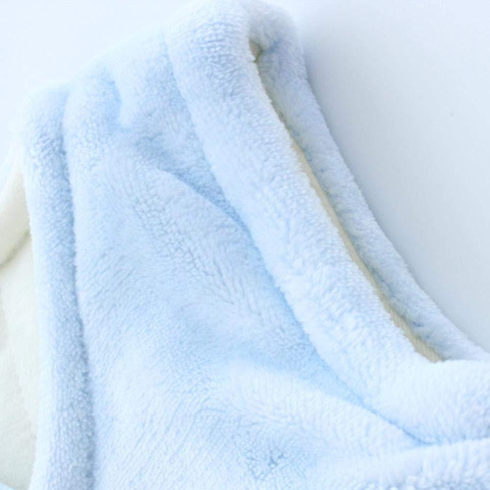 Per Unisex Baby Plush Vest Coat Winter Warm Waistcoat For Newborn