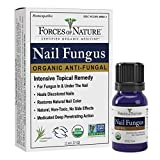 Forces of Nature -Natural, Organic Nail Fungus Treatment (11ml) Non GMO, No Harmful Chemicals, Nontoxic -Fight Damaged, Cracked, Brittle, Discolored Yellow and black Toenails, Fingernails