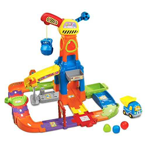 (VTech Go! Go! Smart Wheels Construction Playset)