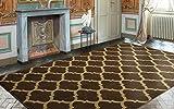 Ottomanson Royal Collection Contemporary Moroccan Trellis Design Area Rug, 7'10