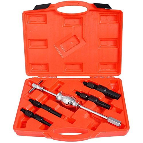 5pcs Inner Blind Bearing Puller Set Internal Slide Hammer Tool w/ Case - International Edmonton Fit