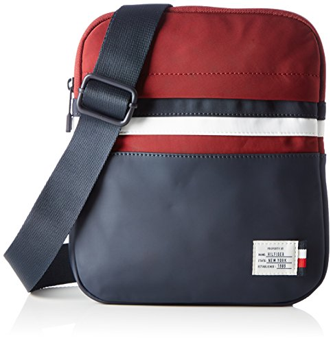 Tommy Hilfiger Herren Tommy Crossover Retro Tasche, Mehrfarbig (Corporate), 2x26x22 cm