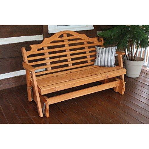 Western Red Cedar Glider (A & L Furniture Co. Western Red Cedar 6' Marlboro Glider)