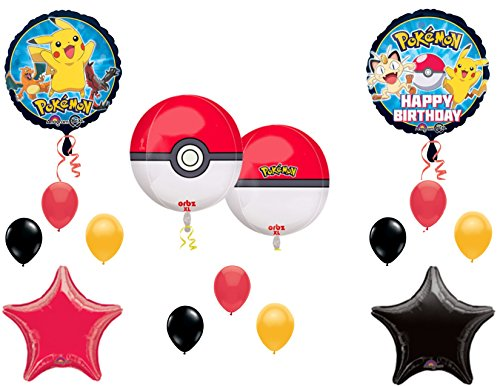 POKEMON Birthday Balloons Decoration Supplies product image