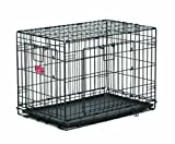 MidWest Homes for Pets Life Stages ACE Double Door Dog Crate, 24-Inch For Sale