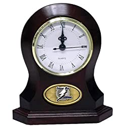 The Memory Company NHL Tampa Bay Lightning Official Desk Clock, Multicolor, One Size