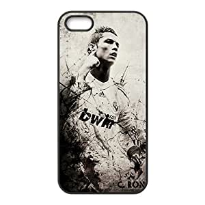 Custom Real Madrid Cristiano Ronaldo Print Hard Case for iPhone 5 and iphone 5s