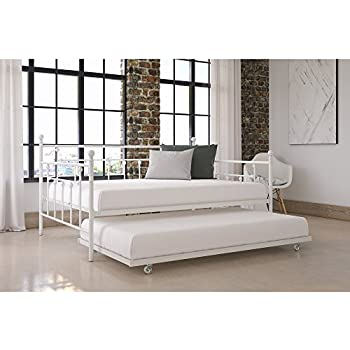 Amazon Com Zinus Florence Twin Daybed And Trundle Frame
