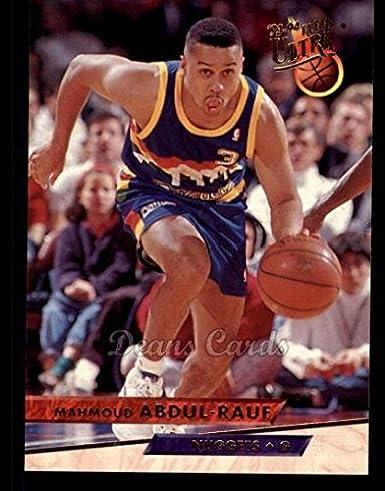 8d27168d23ec Amazon.com  1993 Fleer Ultra   49 Mahmoud Abdul-Rauf Denver Nuggets ( Basketball Card) Dean s Cards 8 - NM MT Nuggets  Collectibles   Fine Art
