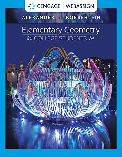 WebAssign for Alexander/Koeberlein's Elementary Geometry for College Students, 7th Edition [Online Code] by Cengage Learning