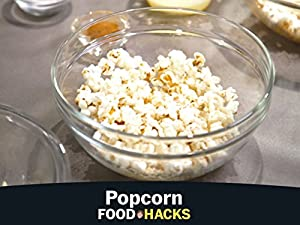 DIY microwave popcorn and toppings