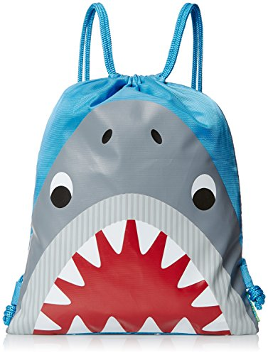 Stephen Joseph Drawstring Bag, Shark