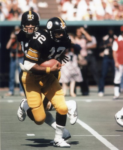FRANCO HARRIS PITTSBURGH STEELERS 8X10 SPORTS ACTION PHOTO (F-1)