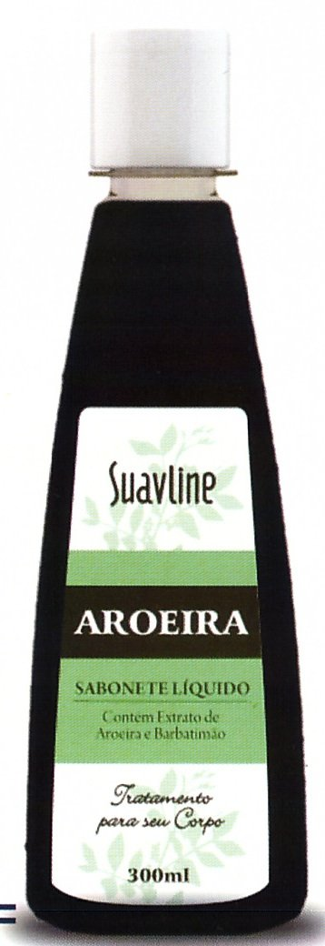 Amazon.com : Suavline Aroeira Sabonete Liquido - Body Treatment Aroeira Liquid Soap 300ml : Bath And Shower Gels : Beauty