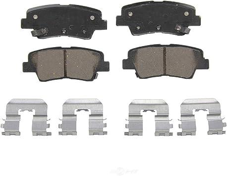2014 2015 2016 for Kia Forte5 Brake Rotors and Ceramic Pads Rear