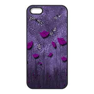 Beautiful Dragonfly Brand New Cover Case for Iphone 5,5S,diy case cover ygtg-309602