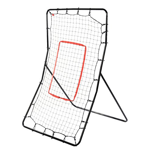 Giantex Youth Pitching Return Baseball Training Net Pitchback Rebound Throwing Sport