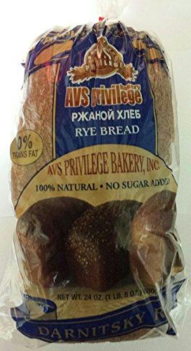 Russian Darnitsky Rye Bread Pack of 2