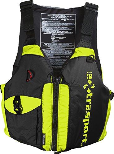 Extrasport Elevate Life Jacket, Hi-Vis/Black, Universal