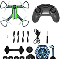 Aurorax Portable RC Drone, H825 5.8G 0.3MP Wide Angle Camera Wifi FPV Quadcopter [Easy to Fly for Beginner] Gift For Kids Friends Lover (Green)